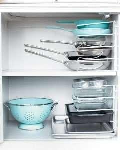 organizing pans